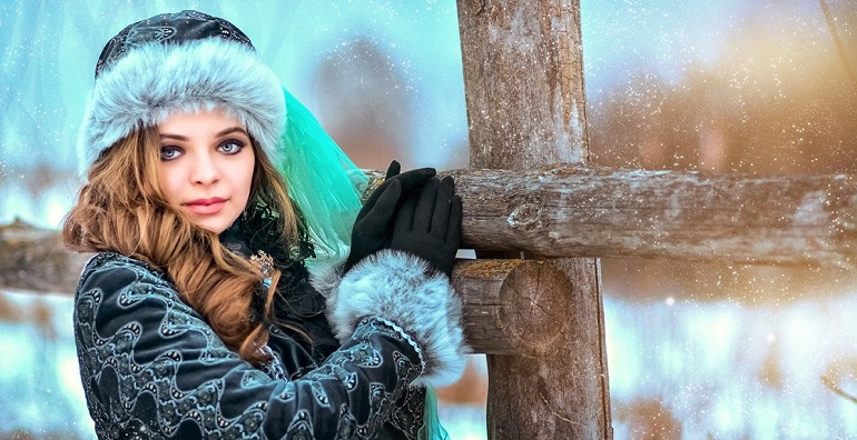 Топ 5 идей для зимней фотосессии